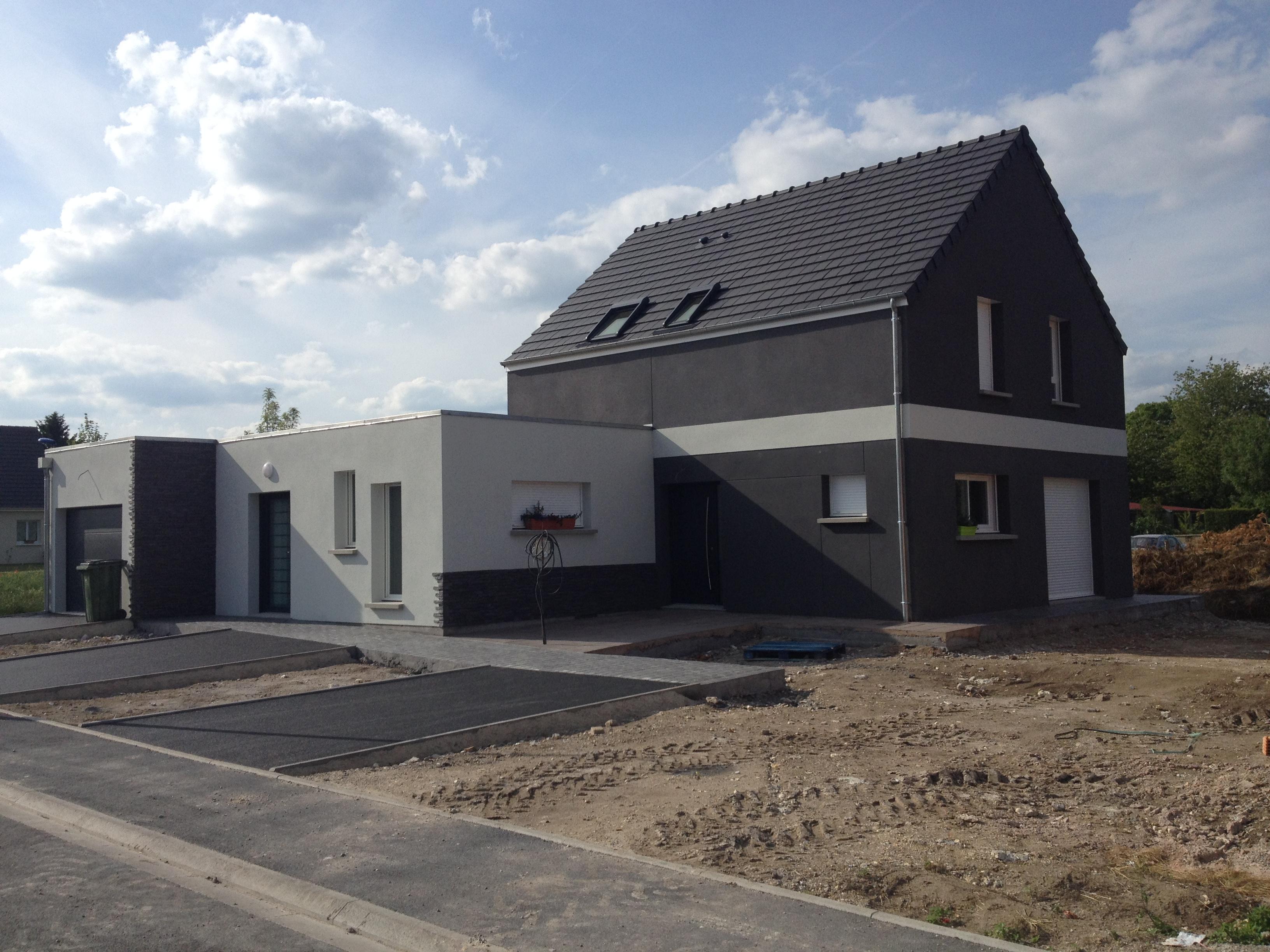 Frambourt Maçonnerie – Construction d'un pavillon (Saleux, Somme)